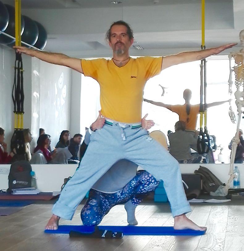 Warrior two yoga